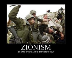 Zionismo: ¿Hacerle a otros lo que los nazis te hicieron a tí?
