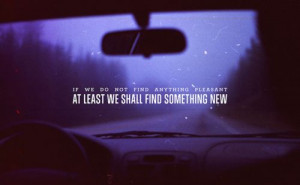 Road trip quote :