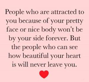 Beautiful Heart Cute Inspirational Quote