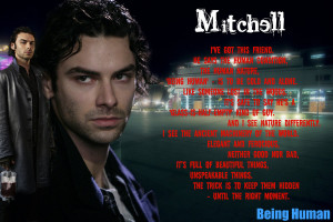 Mitchell - Being Human by Melciah1791