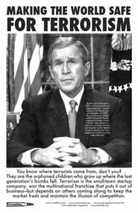 Bush Makes World Safe for Terrorism