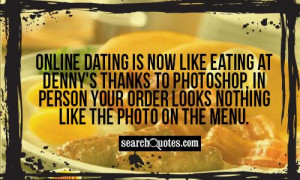 Online dating is now like eating at Denny's thanks to photoshop, in ...