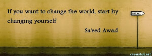 Change Starts With You Quote