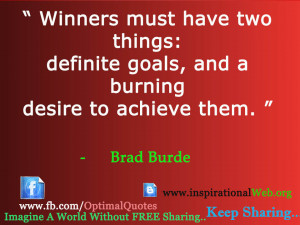 Achieve Goals Quotes To achieve great things two