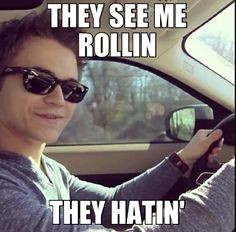 This is just too funny I just love hunter hayes !!!