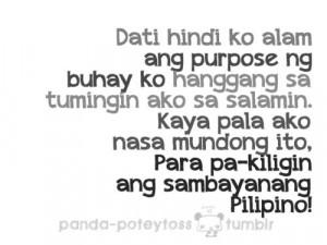pinoy #pinoyquotes #tagalogquotes #banat #kilig #yung