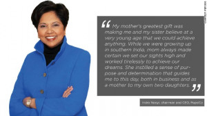 Indian-American business executive Indra Nooyi is the present ...