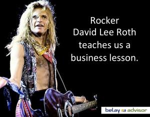 David Lee Roth, frontman of Van Halen and the quintessential decadent ...