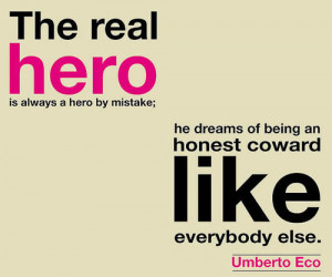 umberto eco quotes hero quote text typography