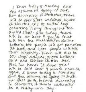 ... Happy Mondays, Life, Inspiration, Quotes, Wisdom, Things, Smile