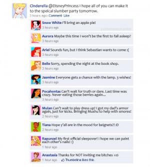 Disney Princess Disney Princesses on Facebook