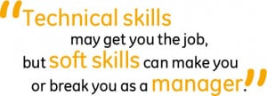 Don't forget the soft skills