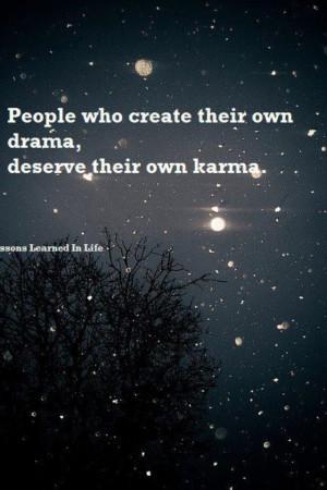 People will create drama,