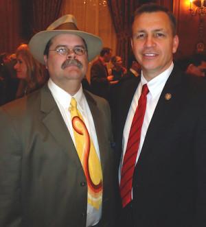 Me and former Pennsylvania Senator Rick Santorum…