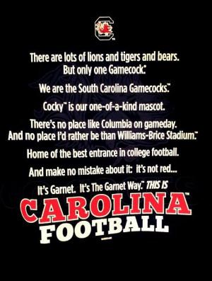 Carolina football