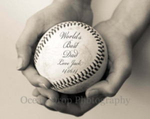 ... Dad Gift, Daddy Quote Print, Gift for Dad, Baseball Gift, Dad Quote