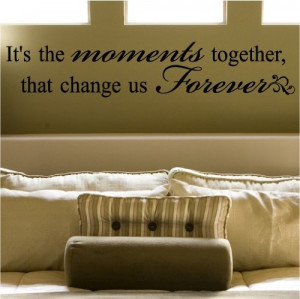 wall quote decal master bedroom and they lived happily ever after