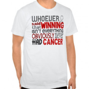 Inspirational Lung Cancer Quotes T-shirts & Shirts