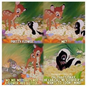 Bambi- movie quotes