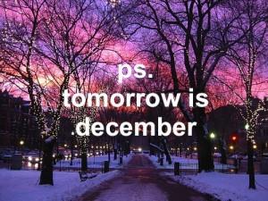 Goodbye November . .