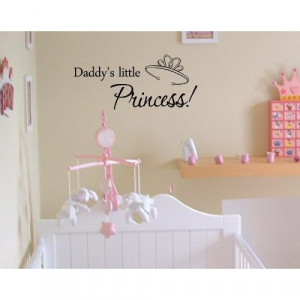 Daddy's little princess!Vinyl wall art Inspirational quotes and saying ...