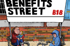 ... Street exposes Britain's dirty secret - how welfare imprisons the poor