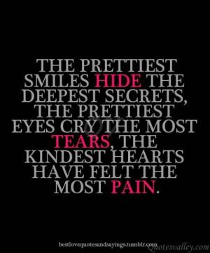 The Prettiest Smiles Hide, The Deepest Secrets, The Prettiest Every ...