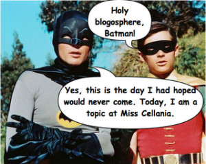 Miss Cellania: Batman and Robin