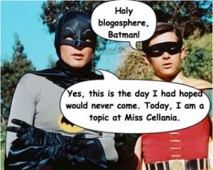 Miss Cellania: Batman and Robin