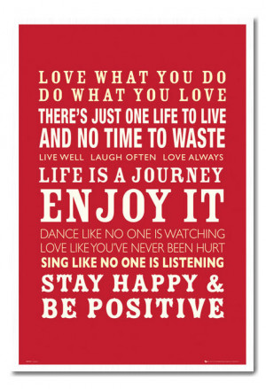 Positive-Love-and-Life-Quotes-Large-Magnetic-Notice-Memo-Board ...