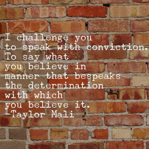 Taylor Mali Quote