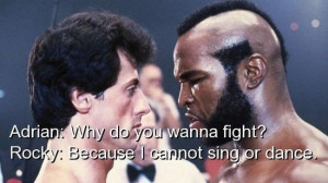 Movie, rocky balboa, quotes, sayings, famous, dance
