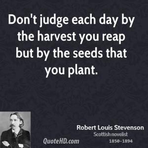 Robert Louis Stevenson Inspirational Quotes