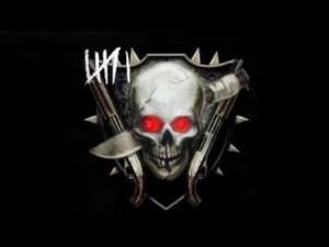 ... Op Zombies, Rank Emblem, Cod Bo2 Zombies Rank, Bo2 Emblems, Red Black