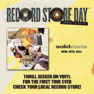 August Burns Red Thrill Seeker ReRelease auf Vinyl im April