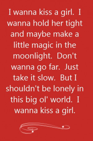 Keith Urban - Kiss a Girl - song lyrics, song quotes, songs, music ...