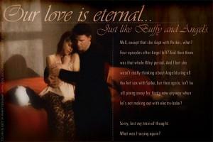 Bangel vs Spuffy Buffy and Angel's love is eternal...or is it?