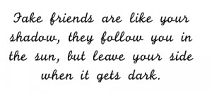 fake friends image source weheartit you wanna know who your true ...