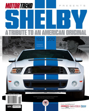 ... Motor Trend, this should be a great one for Shelby fans to pick up