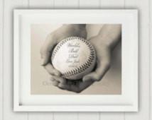 Father's Day Gift, Baseball Pri nt, Baseball Decor, Dad Gift, Daddy ...