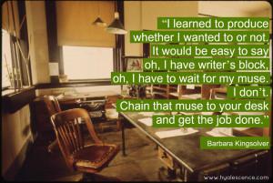 Barbara Kingsolver: