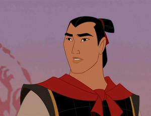 Captain Li Shang, Mulan . Even though he's a cartoon guy, he's still ...