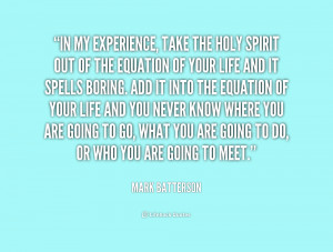 Holy Spirit Quotes