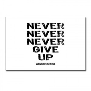 Winston churchill famous quotes never give up wallpapers