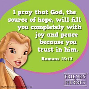 Weekly Bible verses - November