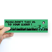 Funny sayings Anti Obama Bumper Bumper Sticker