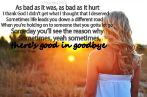 carrie underwood #good in goodbye #love #goodbye #country