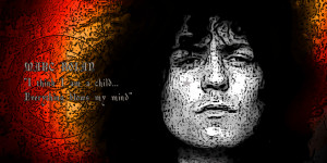 Marc Bolan POETS Collection Iconic Canvas Pop Art Print amp Famous ...