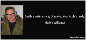 Robin Williams' Famous Quotes