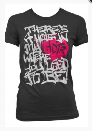 One of the shirts I ordered tonight! There's A Hole In My Heart Where ...